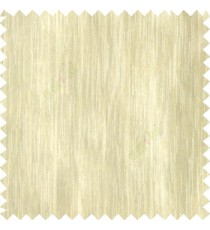 Beige color complete plain vertical texture lines patternless polyester transparent background cotton finished sheer curtain