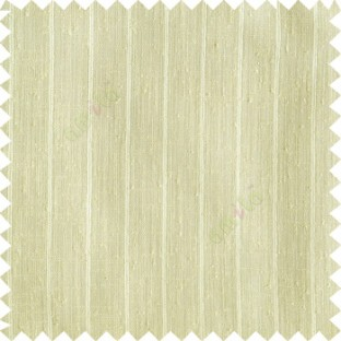 Beige color vertical stripes texture base cotton finished background with transparent fabric small dots sheer curtain