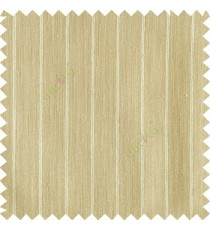Light golden color vertical stripes texture base cotton finished background with transparent fabric small dots sheer curtain