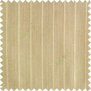 Greenish brown color vertical stripes texture base cotton finished background with transparent fabric small dots sheer curtain
