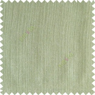 Light green color complete plain texture gradients designless cotton finished horizontal and vertical lines with polyester transparent base fabric sheer curtain