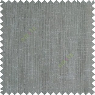Smoke grey color complete plain texture gradients designless cotton finished horizontal and vertical lines with polyester transparent base fabric sheer curtain