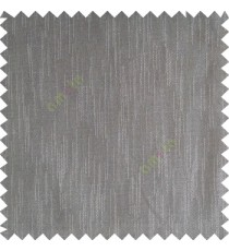 Smoke grey color complete plain vertical texture lines patternless polyester transparent background cotton finished sheer curtain