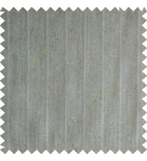 Smoke grey color vertical stripes texture base cotton finished background with transparent fabric small dots sheer curtain