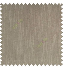 Wood brown color complete plain vertical texture lines patternless polyester transparent background cotton finished sheer curtain