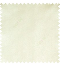 Cream color complete plain designless shiny finished with polyester thick fabric main curtain