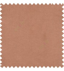 Dark chocolate brown color complete plain designless shiny finished with polyester thick fabric main curtain