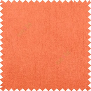 Dark orange complete plain vertical texture lines with polyester background main fabric