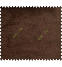 Coffee brown solid texture main polyester curtain designs