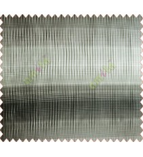 Horizontal stripes gradient black brown grey crush technical polyester main curtain designs