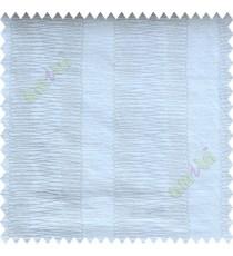 White Beige Vertical Spiral Stripes Polycotton Main Curtain-Designs