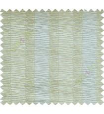 Yellow Grey Beige Vertical Spiral Stripes Polycotton Main Curtain-Designs
