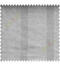 Grey Silver Vertical Spiral Stripes Polycotton Main Curtain-Designs
