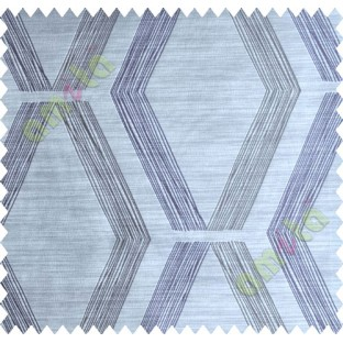 Purple Brown Quilt Diamond Finish Polycotton Main Curtain-Designs