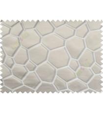Beige Grey Football Cover Linen Main Curtain-Designs