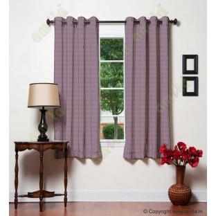 Purple Dot Hole Textures Linen Main Curtain-Designs