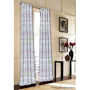 Purple Grey Silver Black Horizontal Texture Colours Main Curtain-Designs