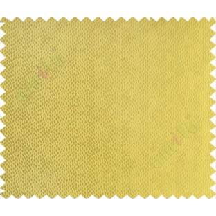 Yellow Black Big Floral Design Linen Main Curtain-Designs