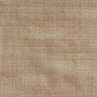 Brown beige color solid texture soft weaving finished small dots sofa main curtain