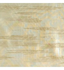 Green beige color abstract cloud wood layers island finished horizontal short bold stripes sheer curtain
