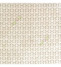 Beige cream color geometric small patterns traditional looks satellite butterfly digital embroidery main curtain