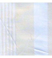 White color vertical pencil and bold stripes net finished vertical and horizontal checks line poly fabric sheer curtain