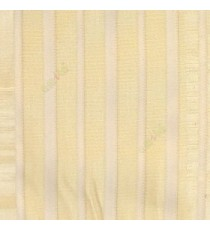 Beige color vertical pencil stripes net finished vertical and horizontal thread crossing checks poly sheer curtain
