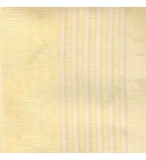 Gold beige color vertical pencil and bold stripes net finished vertical and horizontal checks line poly fabric sheer curtain