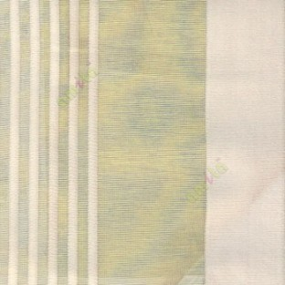 Grey color vertical pencil and bold stripes net finished vertical and horizontal checks line poly fabric sheer curtain