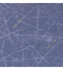 Ink blue color abstract design neurons random crossing lines texture and shiny combination poly fabric main curtain