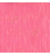 Pink color vertical texture lines embroidery scratches shiny poly fabric main curtain