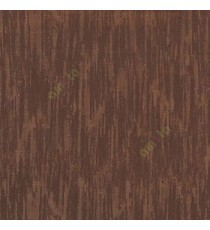 Dark brown color vertical texture lines embroidery scratches shiny poly fabric main curtain