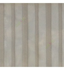 Grey color vertical pencil stripes net finished vertical and horizontal thread crossing checks poly sheer curtain
