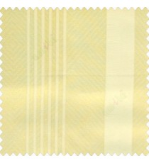 Gold cream color bold vertical and pencil stripes net finished soft touch lines transparent fabric small check lines sheer curtain