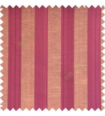 Purple black beige color bold vertical stripes with thin lines background polyester texture base fabric horizontal embossed lines main curtain