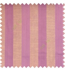 Light purple beige grey color bold vertical stripes with thin lines background polyester texture base fabric horizontal embossed lines main curtain