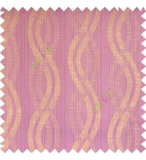 Light purple beige grey color vertical weaving ropes horizontal short texture lines polyester main curtain