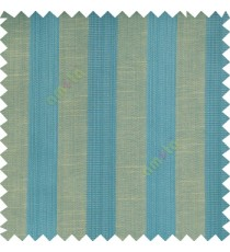 Blue beige grey color bold vertical stripes with thin lines background polyester texture base fabric horizontal embossed lines main curtain