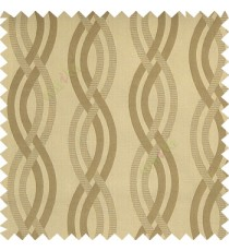 Light copper brown grey color vertical weaving ropes horizontal short texture lines polyester main curtain