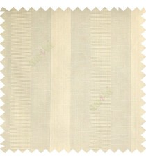 Beige color bold vertical stripes with thin lines background polyester texture base fabric horizontal embossed lines main curtain
