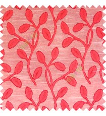 Maroon beige color big sized flower buds digital twigs horizontal lines texture finished background main curtain