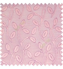 Baby pink purple cream color big sized flower buds digital twigs horizontal lines texture finished background main curtain