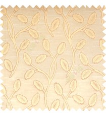 Beige cream light brown color big sized flower buds digital twigs horizontal lines texture finished background main curtain