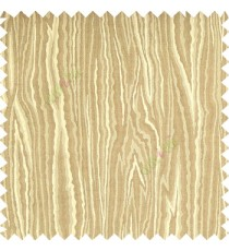Light brown grey color beautiful damask design floral leaf borders swirl vertical thin lines polyester texture base fabric main curtain
