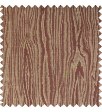 Dark chocolate brown beige color vertical busy texture stripes wooden layers polyester background few horizontal lines main curtain