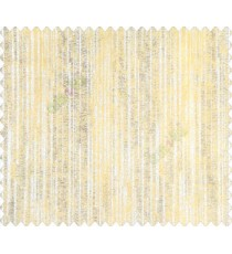 Abstract rain drops mustard yellow beige vertical lines simple main curtain