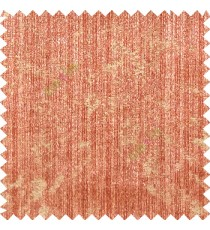 Orange beige color vertical straight stripes texture splashes horizontal dots texture gradients polyester main curtain