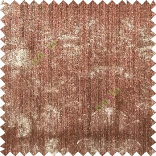 Brown beige color vertical stripes texture finished surface horizontal dots texture splashes polyester main curtain