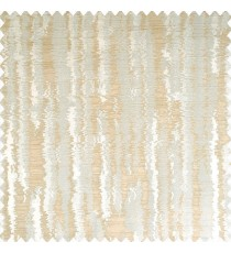 Beige and light brown color vertical texture bold stripes with horizontal lines polyester main curtain