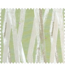 Abstract scaffolding robot legs Bridge pier Bamboo texture Green Silver Grey Beige Brown Main curtain